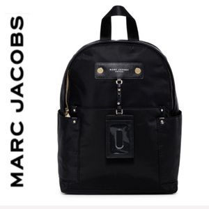 NWT Marc Jacobs preppy backpack black